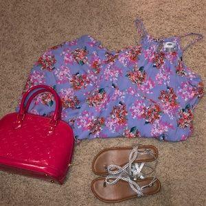 Other - Floral halter midi dress